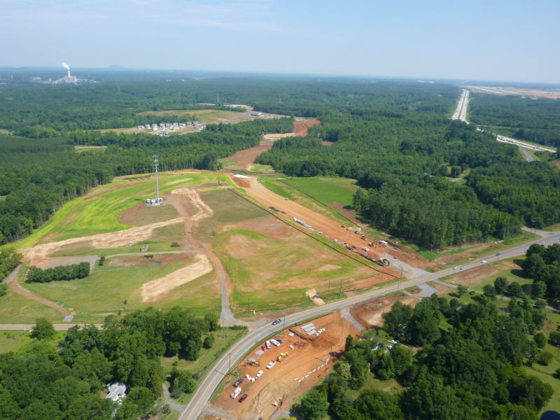 Dixie River Construction Aerial s